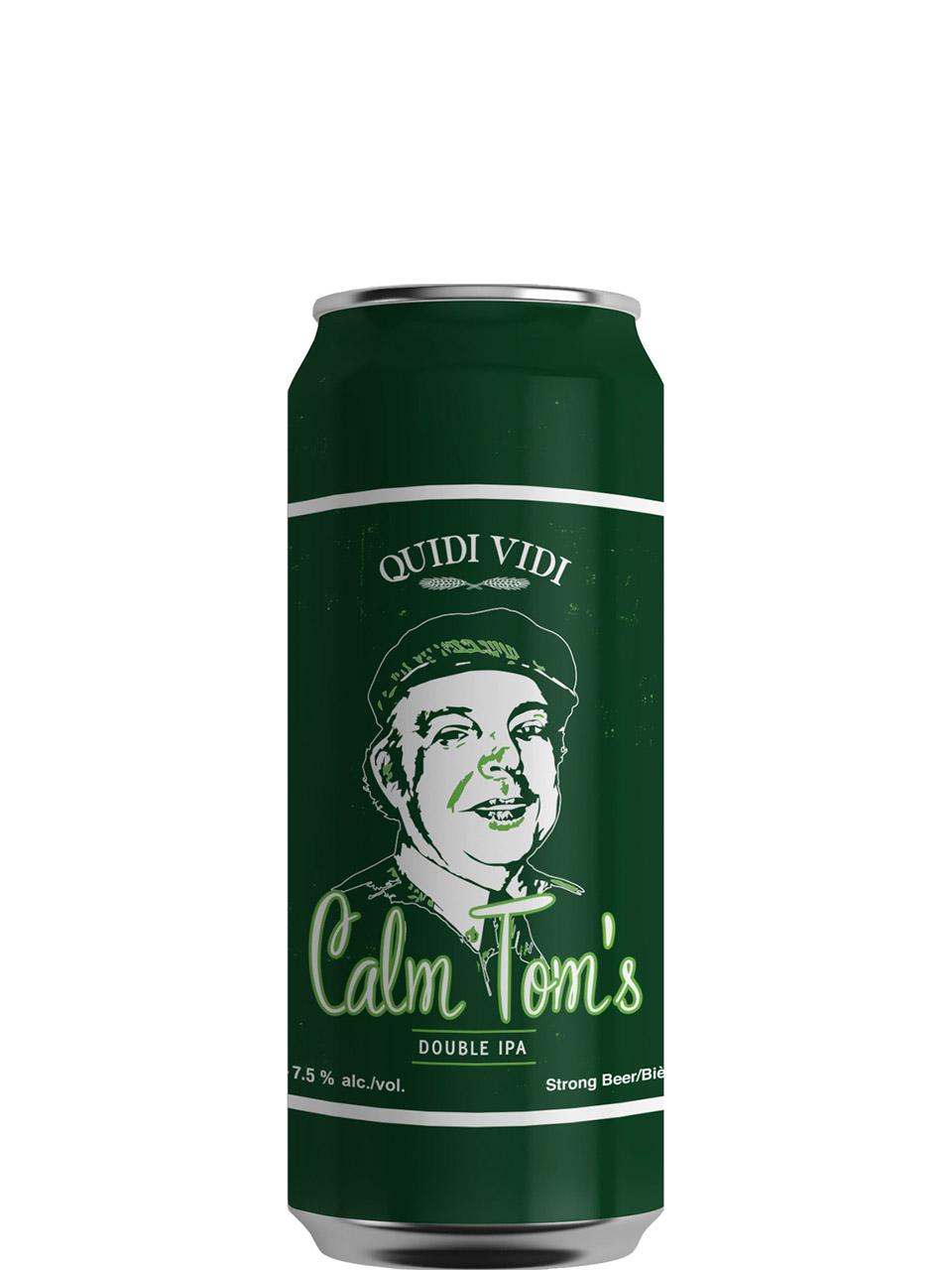Quidi Vidi Calm Tom's Double IPA 473ml Can
