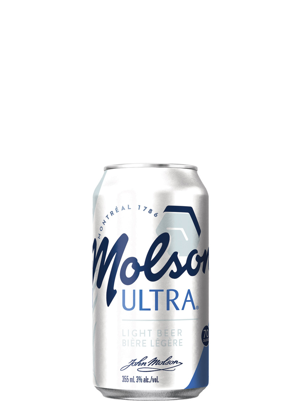 Molson Ultra 8 Pack Cans