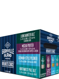 Granville Brewer's Choice Winter 8 Pack Cans