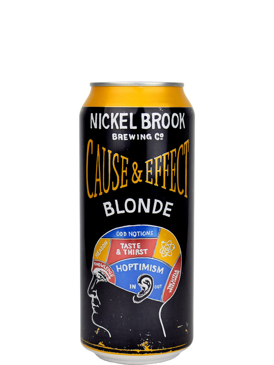 Nickel Brook Cause & Effect Blonde 473ml Can