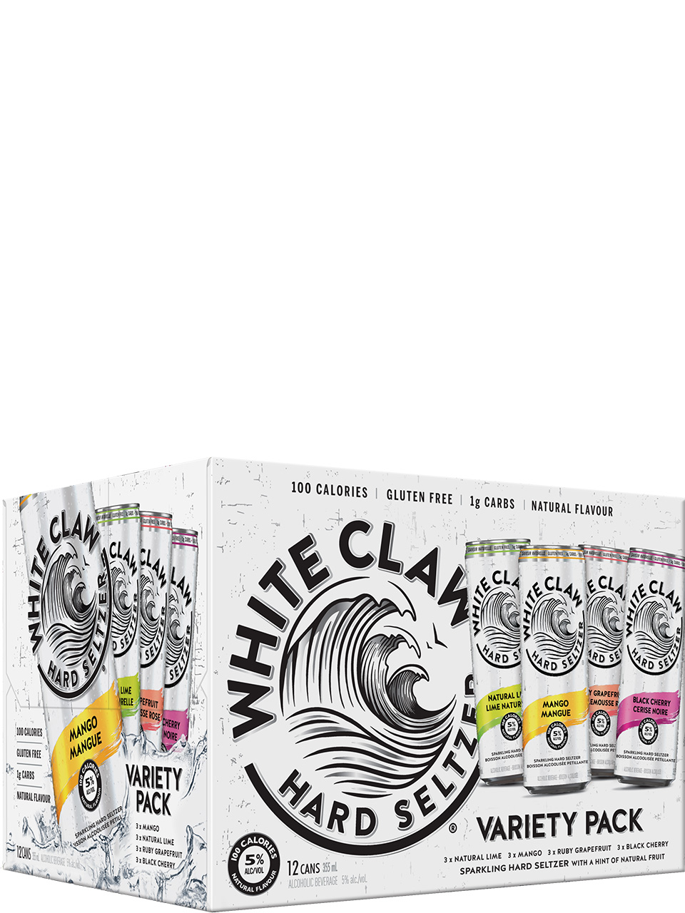 White Claw Variety 12 Pack Cans
