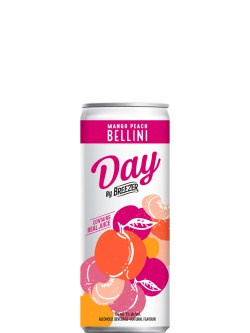 Breezer DAY Mango Peach Bellini 6 Pack Cans