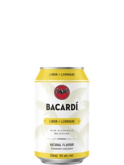Bacardi Limon & Lemonade 6 Pack Cans