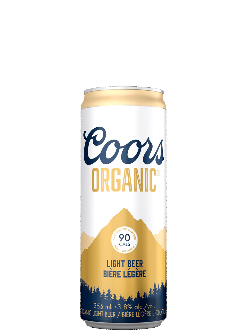 Coors Organic 6 Pack Cans