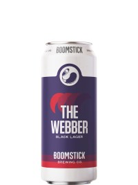 Boomstick The Webber Black Lager 473ml Can