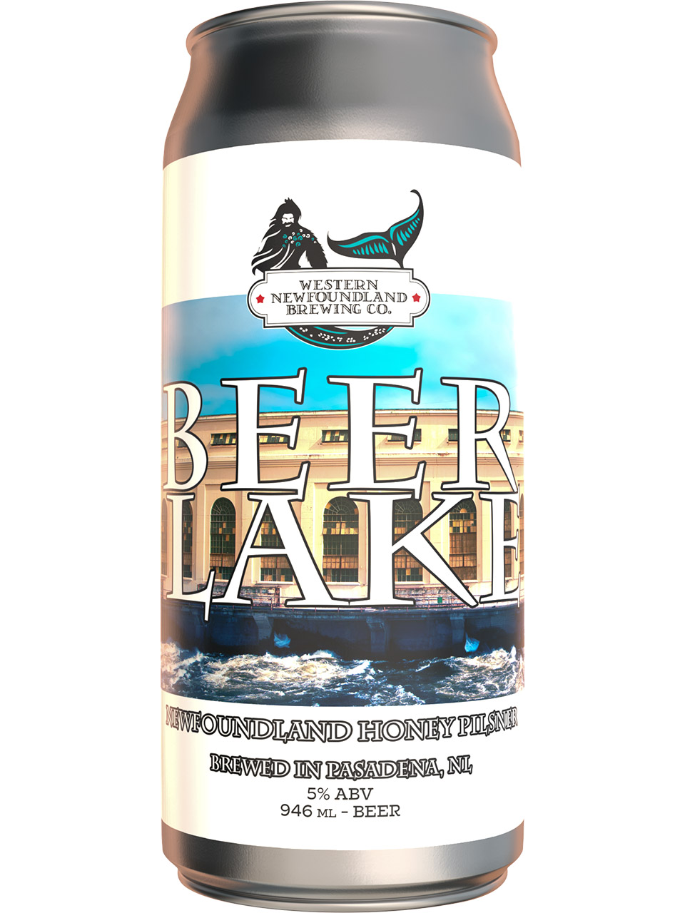 Western NL Brewing Beer Lake NL Honey Pilsner