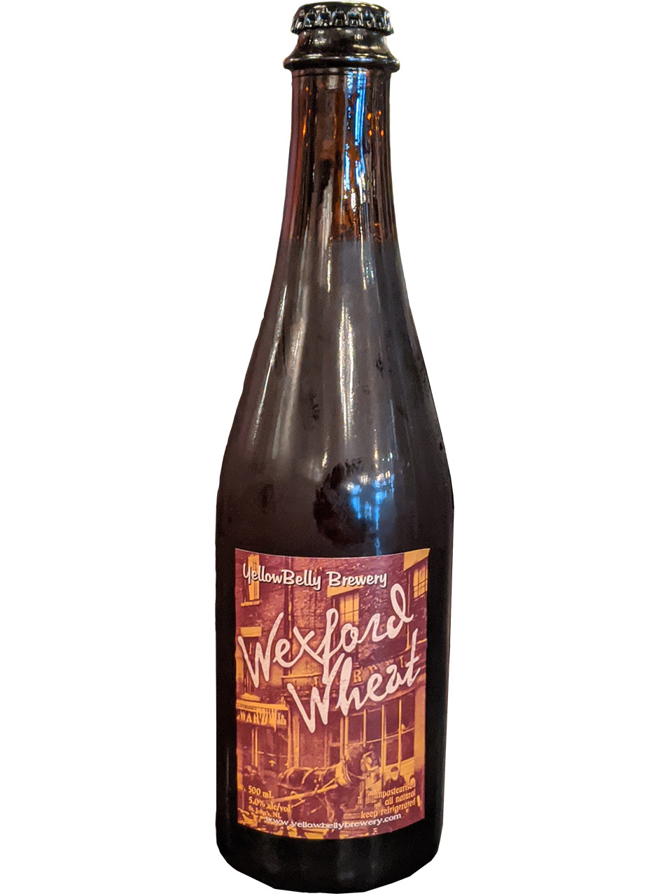 YellowBelly Wexford Wheat Ale 500ml Bottle