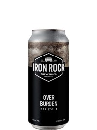 Iron Rock Brewing Co Overburden Oat Stout 473ml