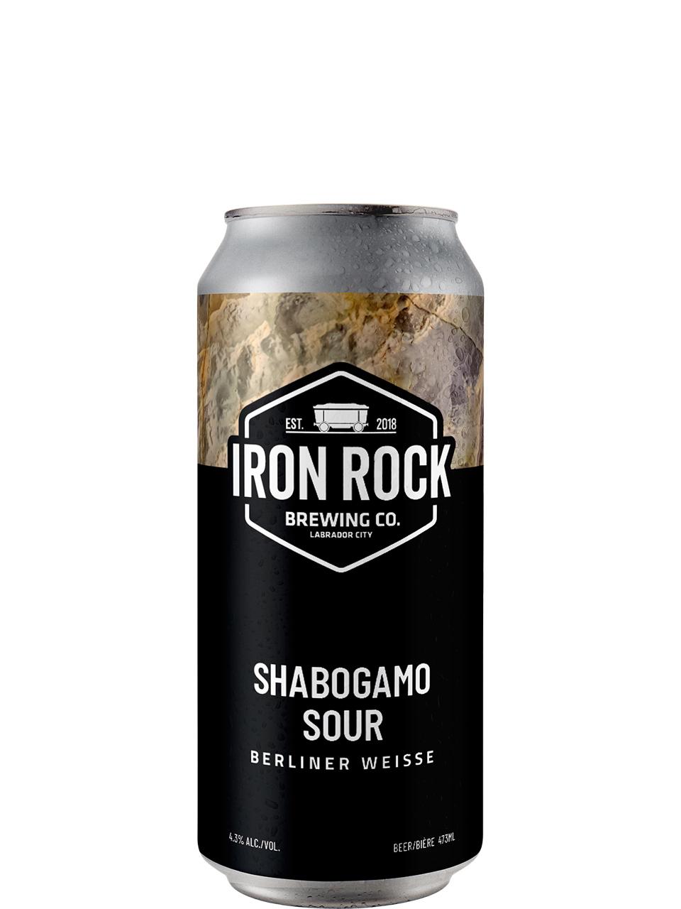 Iron Rock Brewing Co Shabogamo Sour 473ml
