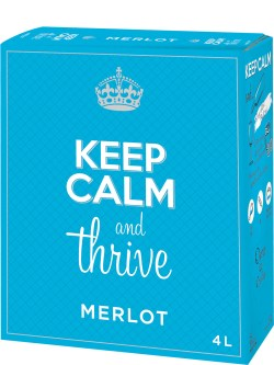 Keep Calm & Thrive Merlot