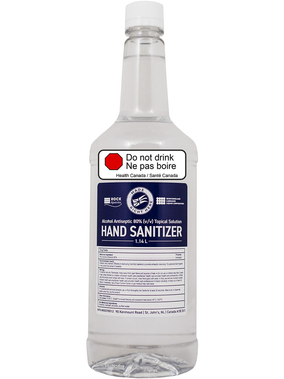 Alcohol Antiseptic 80% Hand Sanitizer