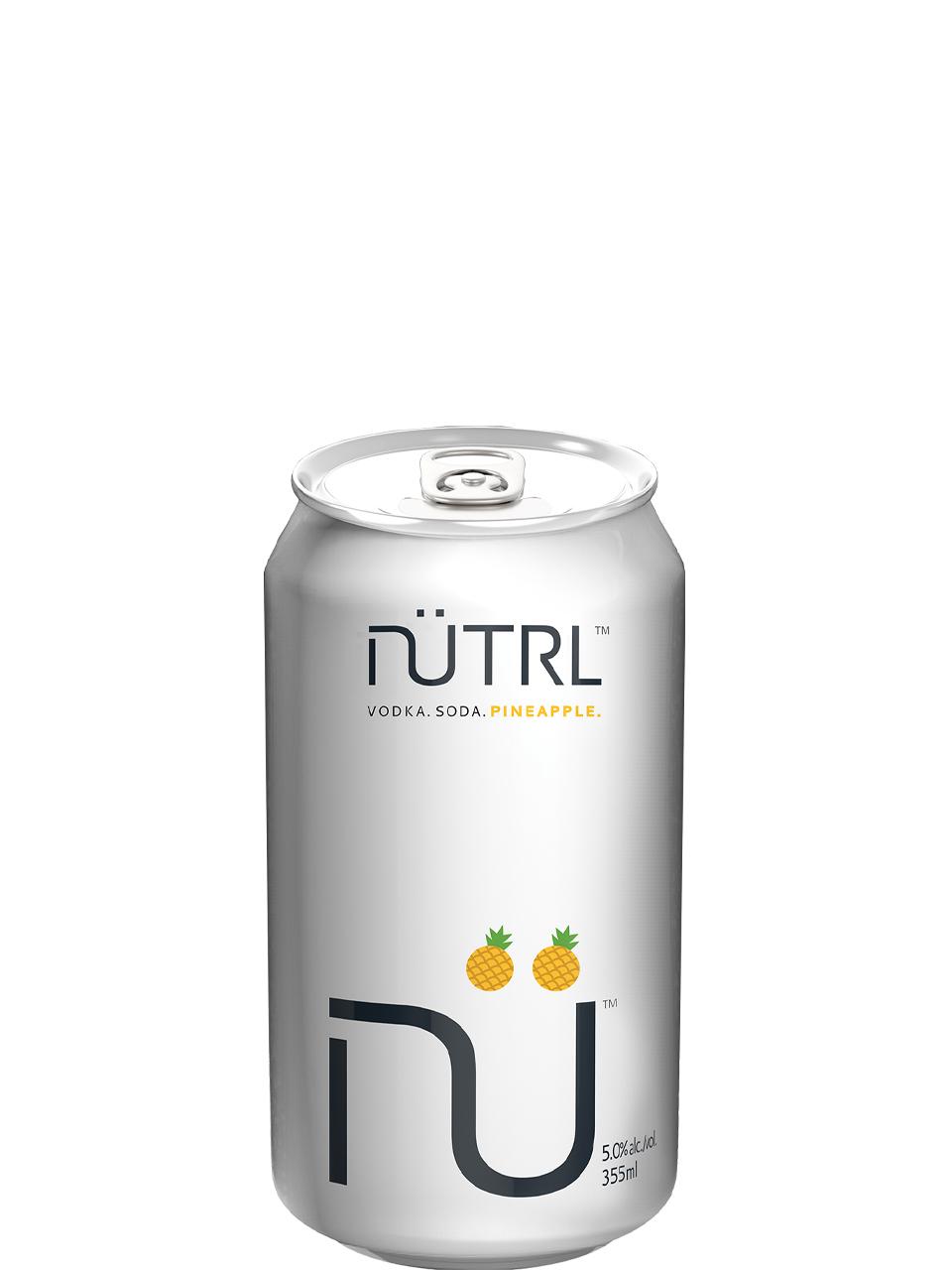 NUTRL Vodka Soda Pineapple 6 Pack