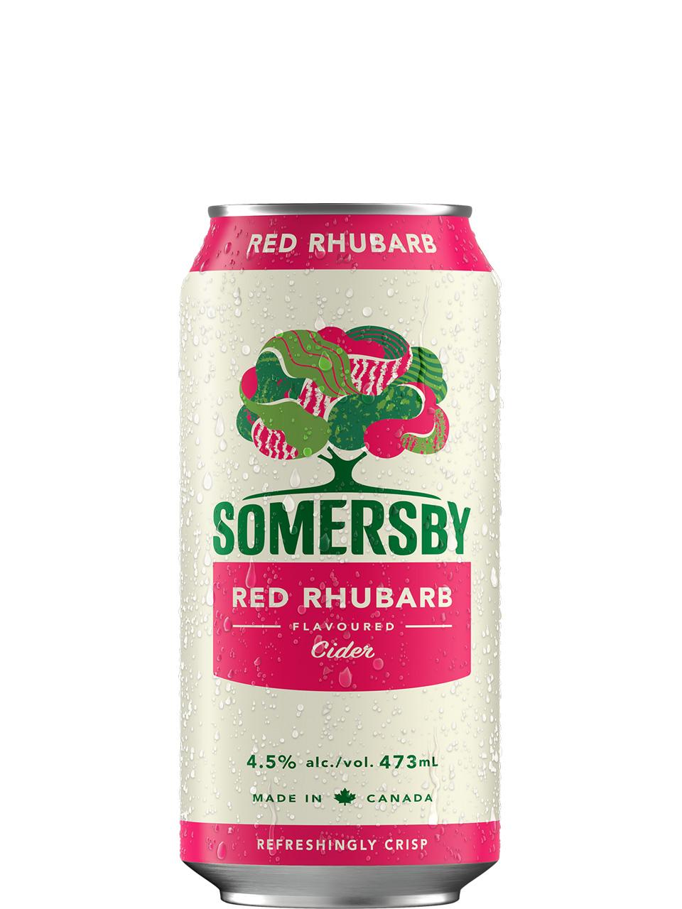 Somersby Red Rhubarb Cider 473ml