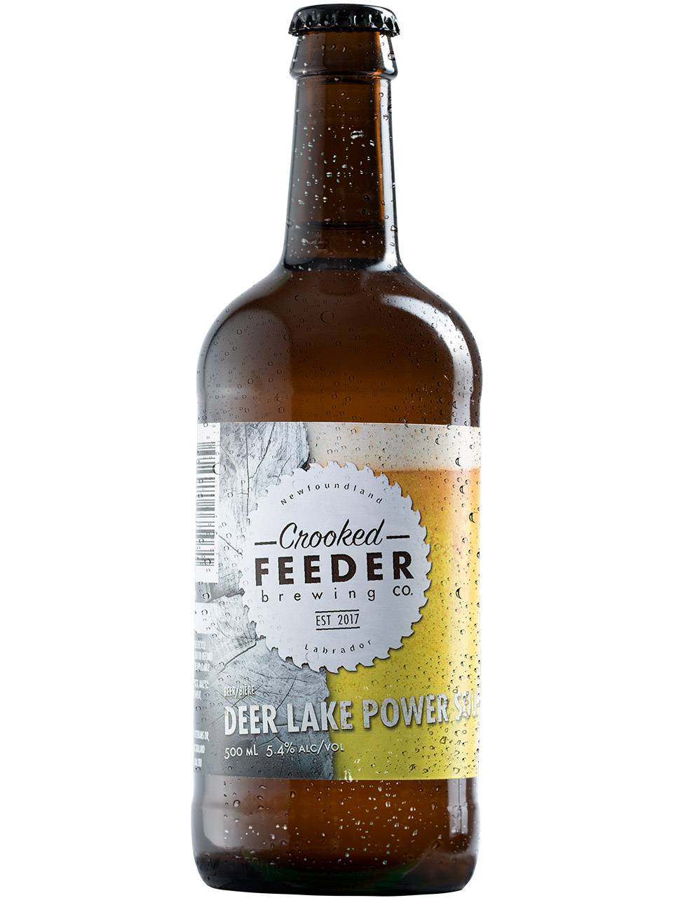 Crooked Feeder Deer Lake Power Sour 500ml Bottle