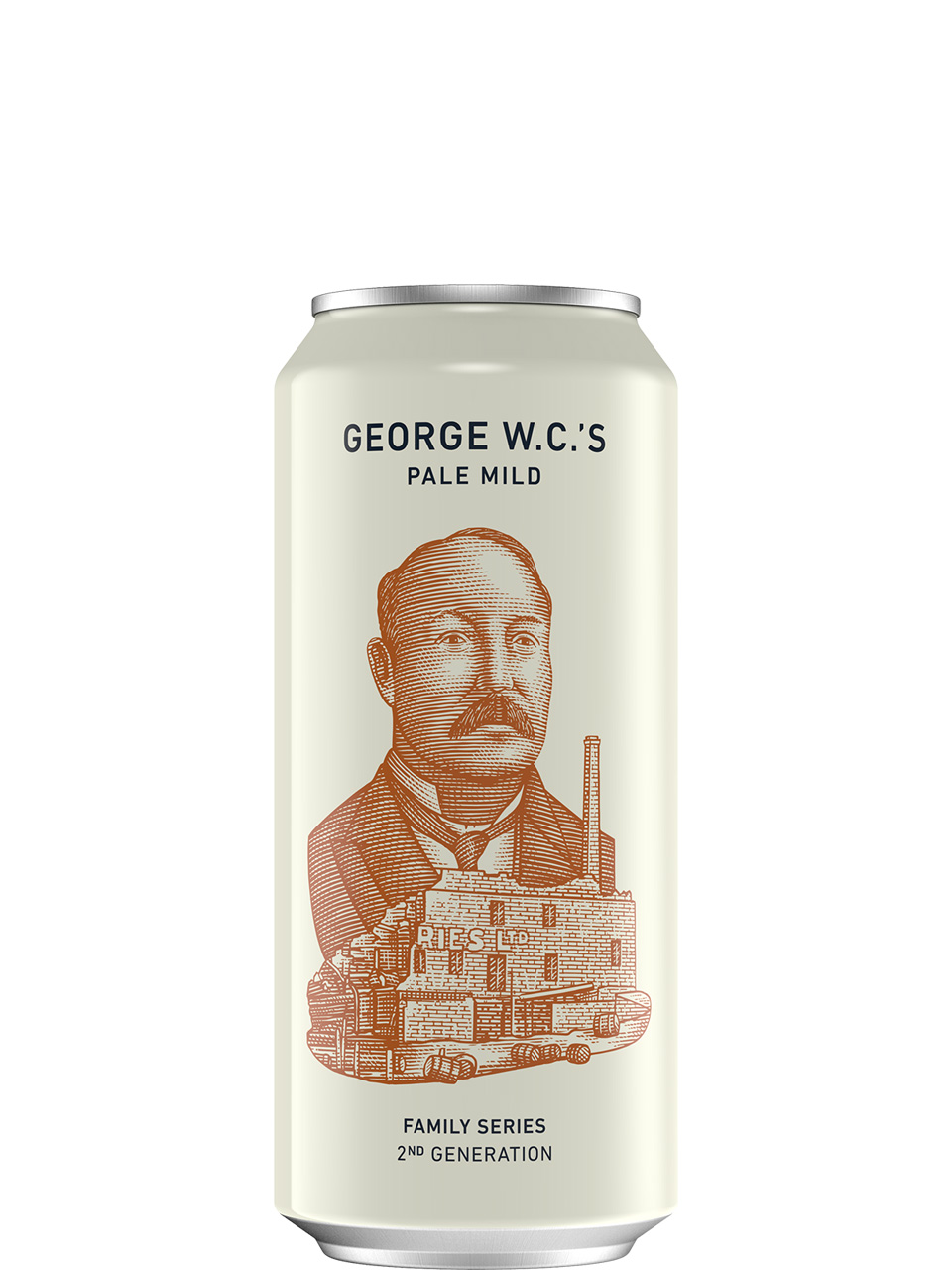 Small Batch George W.C.'s Pale Mild 473ml Can