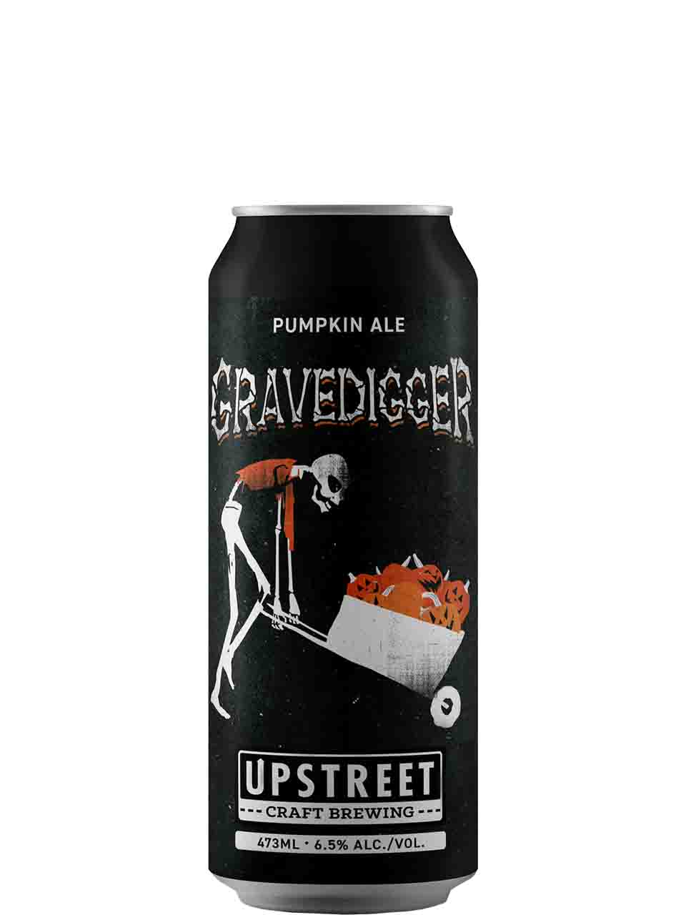 Upstreet Gravedigger Pumpkin Ale 473ml Can