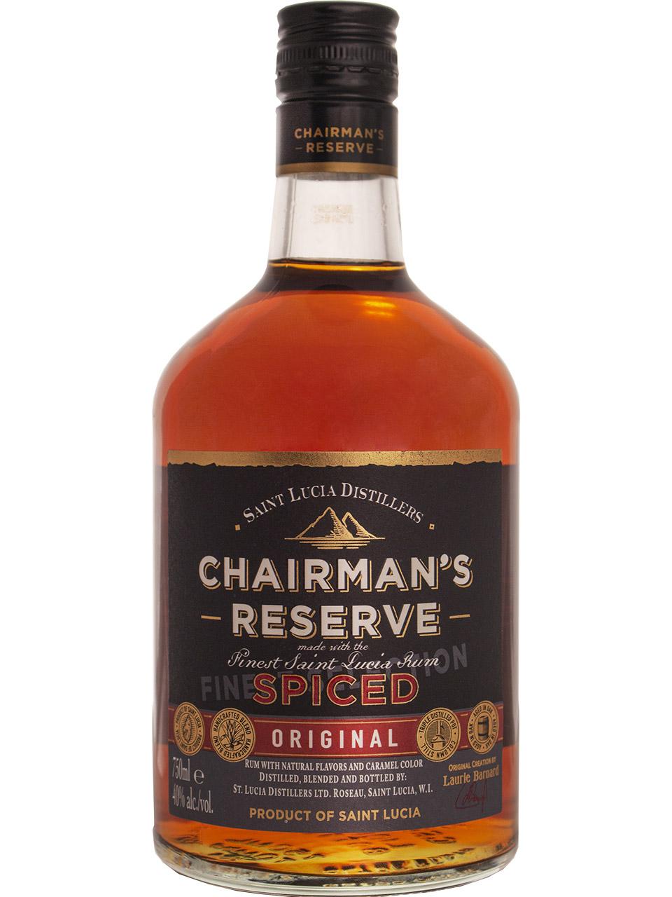 Chairman's Reserve Finest Saint Lucian Spiced Rum