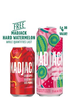 Mad Jack Apple 8 Pack Cans