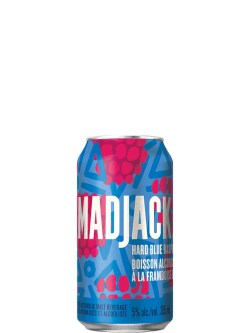 Mad Jack Blue Raspberry 8 Pack Cans
