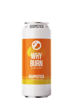 Boomstick Why Burn Helles 473ml Can