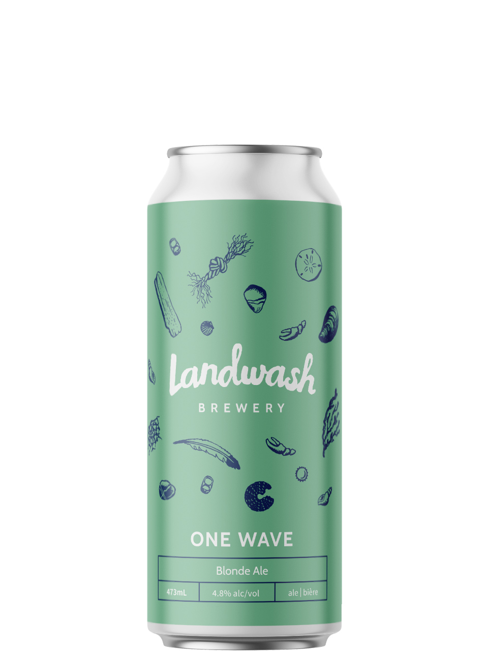 Landwash One Wave Blonde Ale 473ml Can
