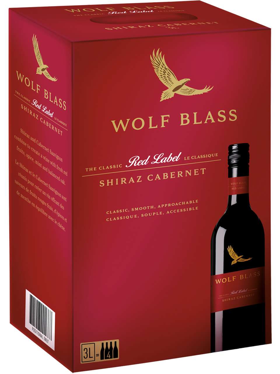 Wolf Blass Red Label Shiraz/Cabernet Sauvignon