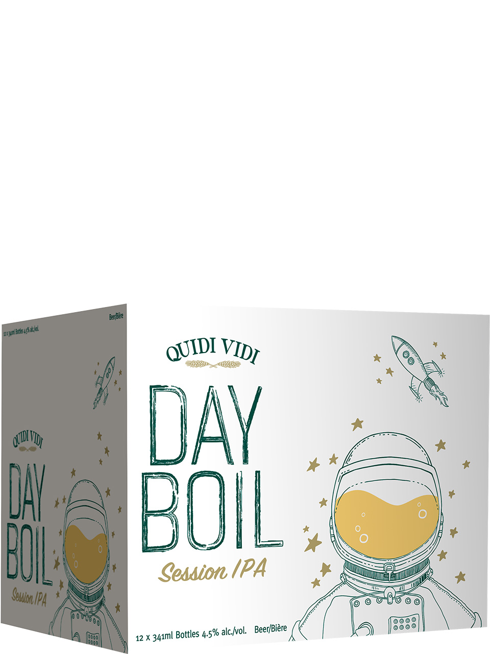Quidi Vidi Dayboil Session IPA 12 Pack Bottles