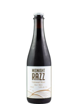 Baccalieu Trail Midnight Razz Oatmeal Stout 500ml