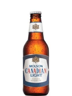 Molson Canadian Light Btls 6pk