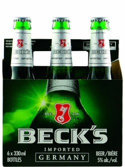 Beck's Beer Bottles 6pk