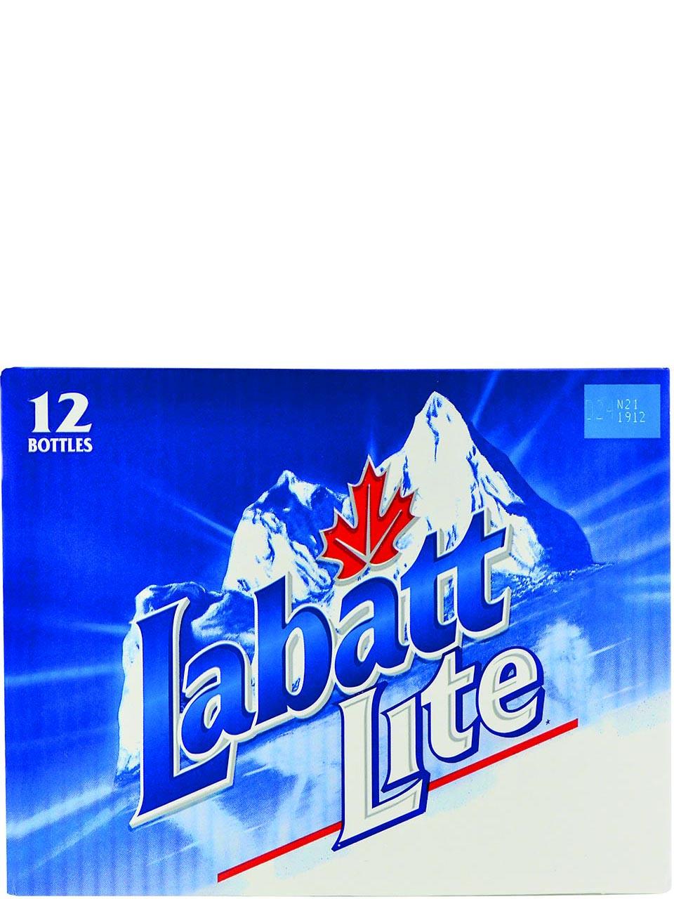 Labatt Lite Bottles 12pk