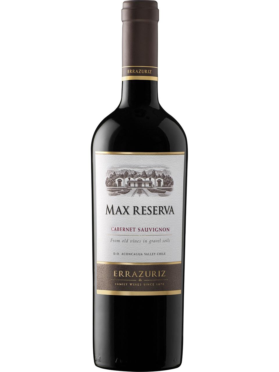 Errazuriz Max Reserva Cabernet Sauvignon