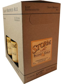 Storm Island Gold Ale 6 Pack Bottles