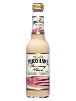 Vodka Mudshake Strawberry