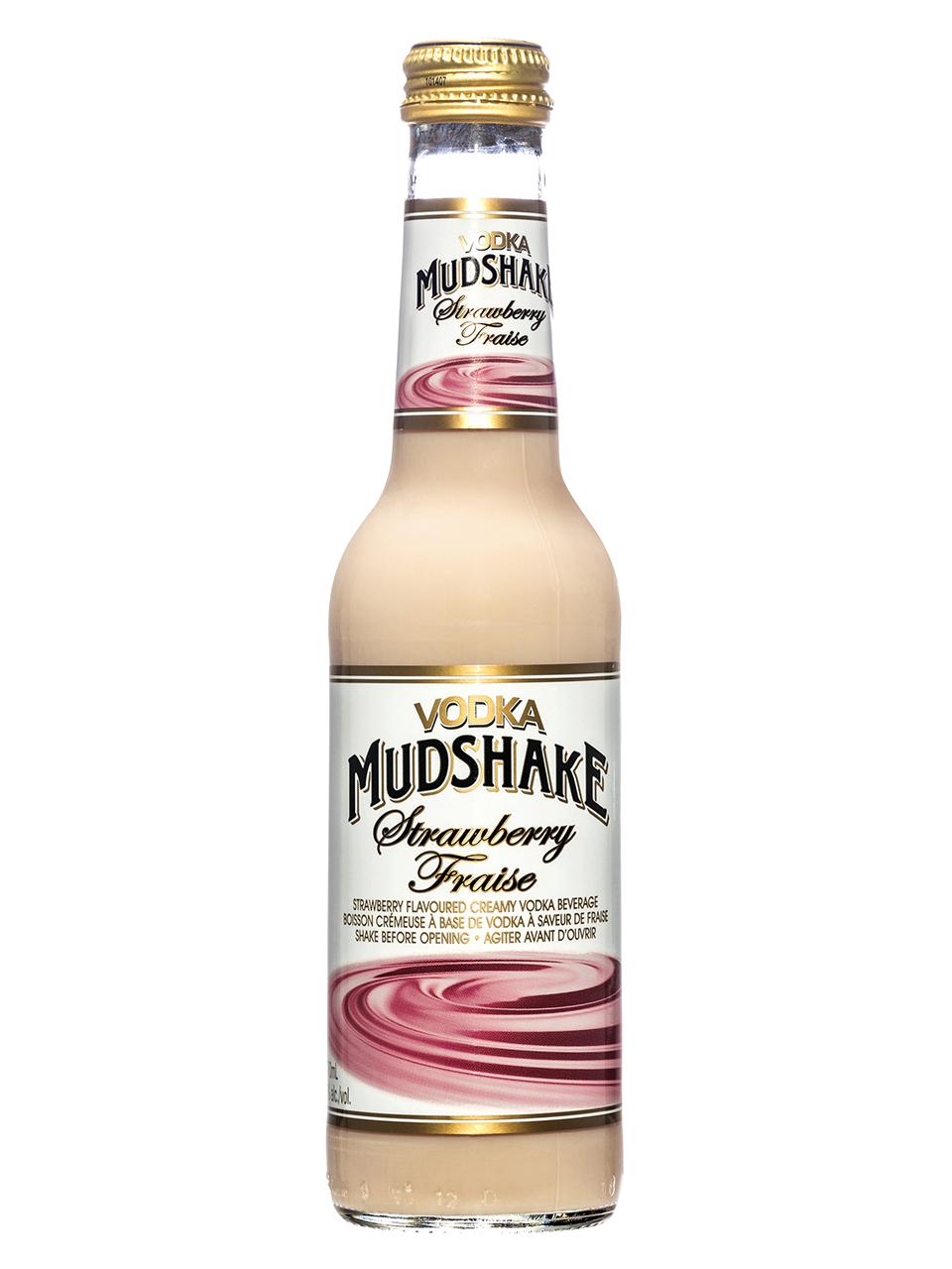 Vodka Mudshake Strawberry