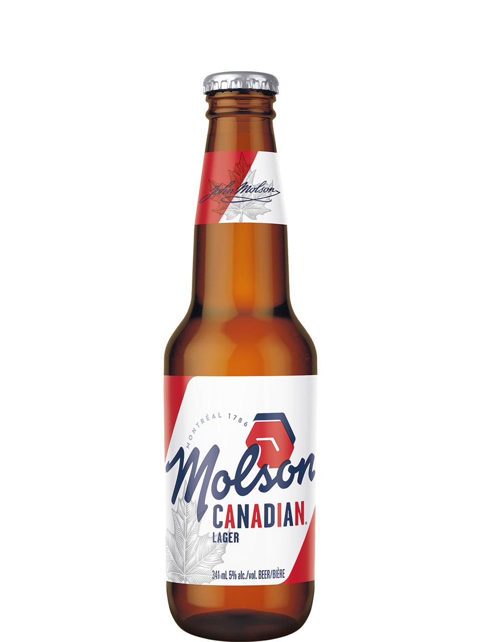 Molson Canadian Bottles 24pk