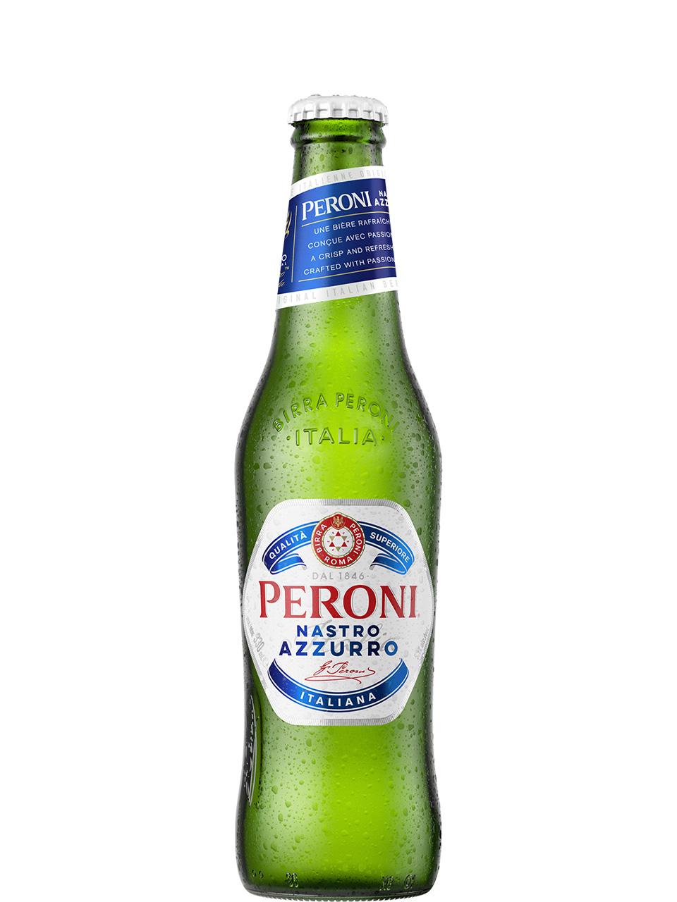 Peroni Nastro Azzurro 6 Pack Bottles