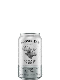 Moosehead Cracked Canoe 6 Pack Cans