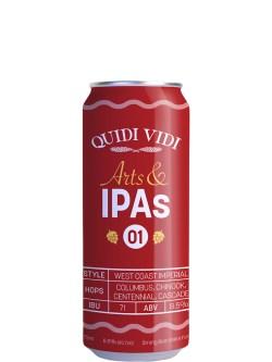 Quidi Vidi Arts & IPAs #1 West Coast Imperial IPA