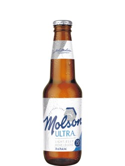 Molson Ultra 12 Pack Bottles
