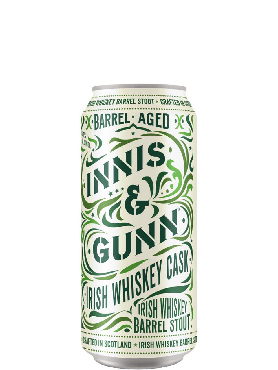 Innis & Gunn Irish Whiskey Cask 500ml Can