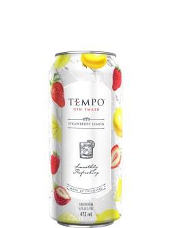 Tempo Gin Smash Strawberry Lemon 473ml Can