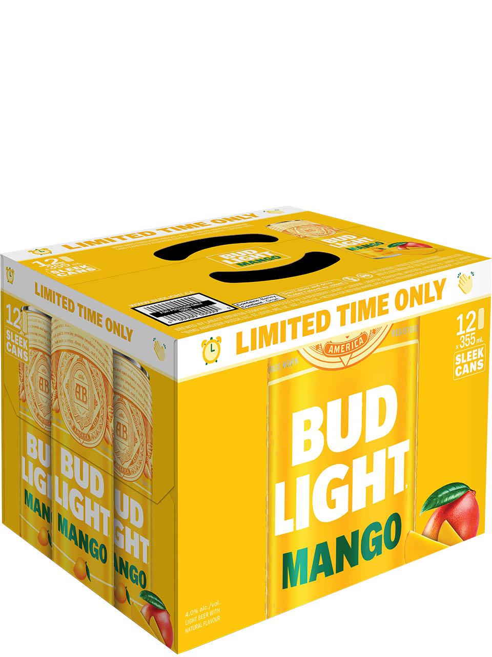 Bud Light Mango 12 Pack Cans