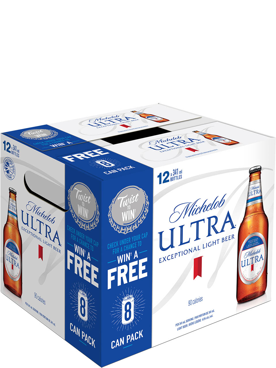 Michelob Ultra 12 Pack Bottles