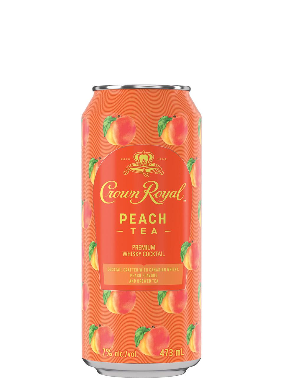 Crown Royal Peach Tea 473ml Can