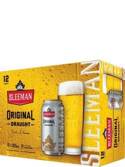 Sleeman Original Draught 12 Pack Cans