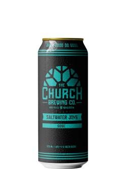 The Church Brewing Saltwater Joys Gose 473ml Can