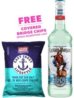 Captain Morgan East Coast White Rum
