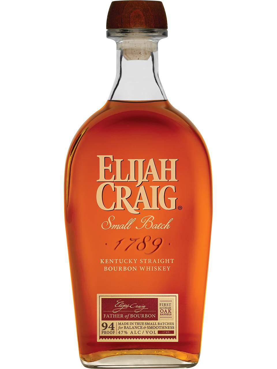 Elijah Craig Kentucky Straight Bourbon Whiskey
