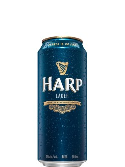 Harp Lager 500ml 4 Pack Cans